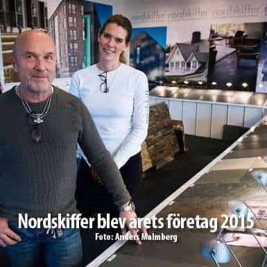 Tidningsartikel om Nordskiffer, Nordskiffer blev årets företag 2015