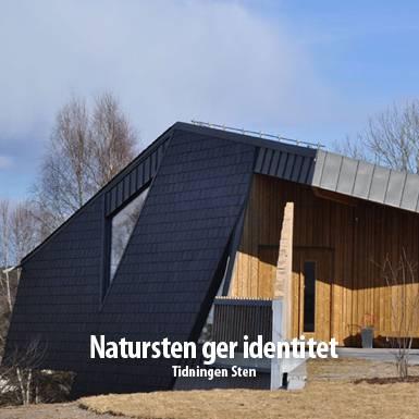 Tidningsartikel om Nordskiffer, Natursten ger identitet