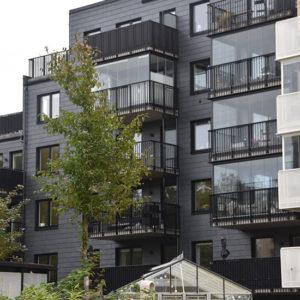 Nordskiffer 200 på projekt i Nya Hovås