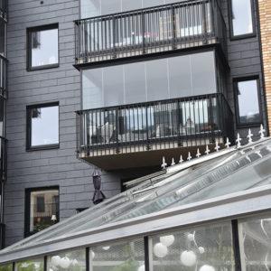 Flerfamiljshus nya Hovås med skifferfasad