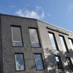 Nordskiffer Classic - takskiffer på fasad i dubbeltäckning
