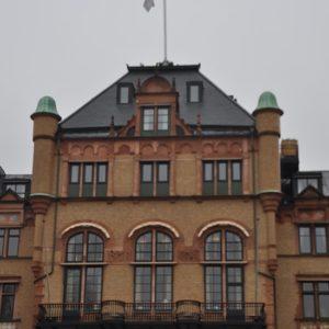 Takskiffer Nordskiffer Classic monterad i dubbeltäckning på Grand Hotel i Lund