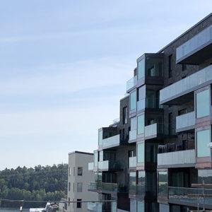 Projekt Tollare med Multicolor fasader - Utopia Arkitekter
