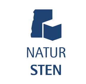 Naturstensloggan intygar det ekologiska mervärdet i produkten