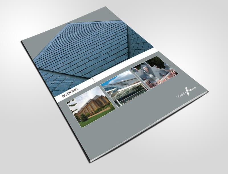 Welsh Slate's katalog för takskiffer med bra instruktioner för montage.