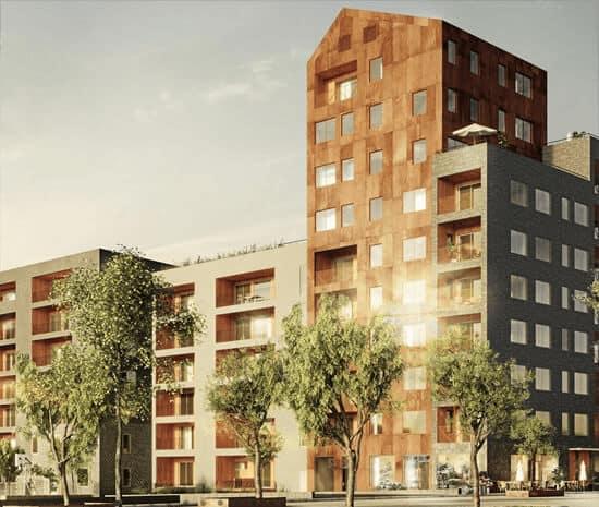 Nya Djurgårdsstaden Kv Äril i Stockholm