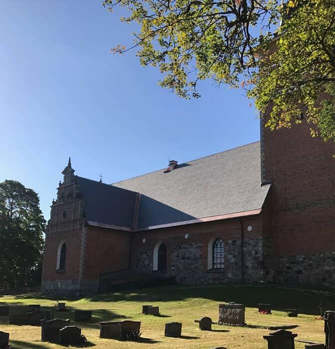 Eskilstuna - Takskiffer Castillo på Jäders Kyrka