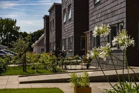 Projekt med Boklok, fasadskiffer Purple - Gantofta, Helsingborg