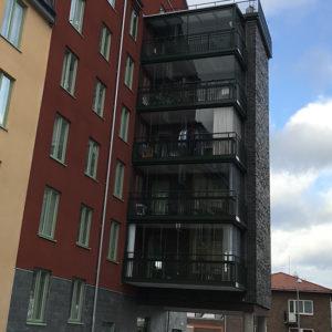 Castillo fasad i Linköping