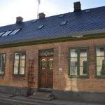 Lund - Lilla fiskaregatan skiffertak klippt i spets