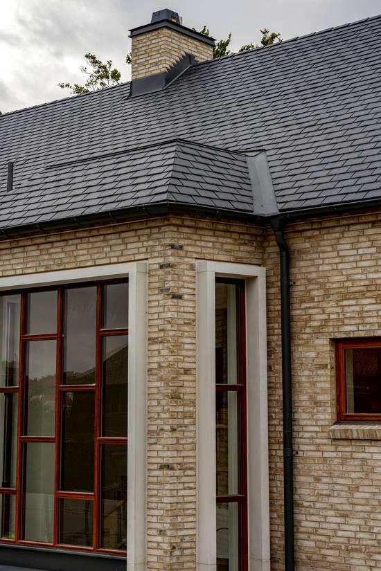 Samaca Classic på tak och fasad på Adolf Fredriksgata i Malmö