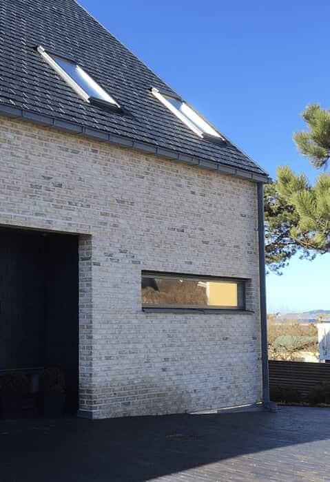 Höganäs - Strandbaden, Samaca Classic skiffer på tak