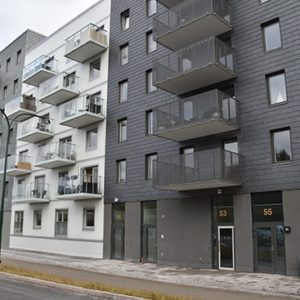 Samaca Classic och Nordskiffer Grön klär 2 husfasader på projekt Gaffelseglet