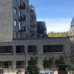 Kv Äril här med spetsklippt Nordskiffer Lugano på fasad