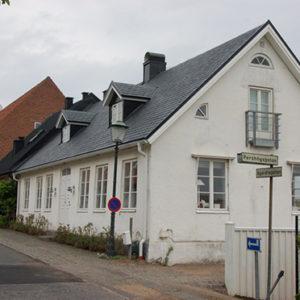 Bostadshus i Båstad med skiffertak Samaca Classic