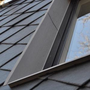 Samaca 55 diagonal - Thiel, takskiffer på fasad
