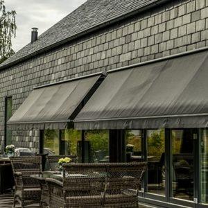 Hus klätt med skiffer på projekt Villa Hallgren