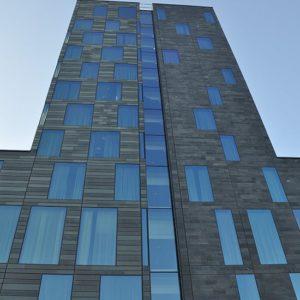 Hotel Post - skuren skiffer i Göteborg