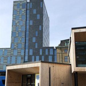 Skuren skiffer - Castillo i Göteborg