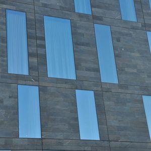 Göteborg - skuren Castillo skiffer på Hotel Post
