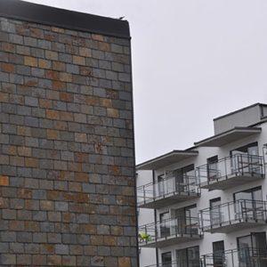 Fasadvägg - Multicolor, fasadskiffer