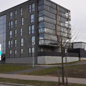 Skifferfasad kvarter Frigg - Helsingborgshem