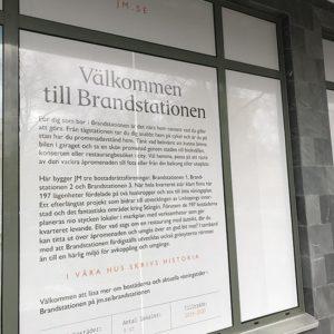 Projekt Brandstationen - JM i Linköping