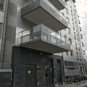 Projekt Brandstationen med Castillo sockel, Projekt i Linköping