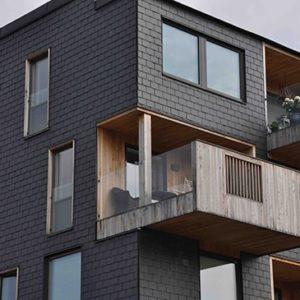 Takskiffer Nordskiffer Classic fasadrenovering i Svängsta