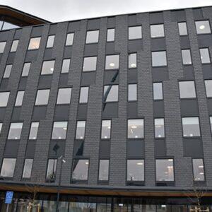 Nordskiffer Svart monterad i dubbeltäckning, Växjö