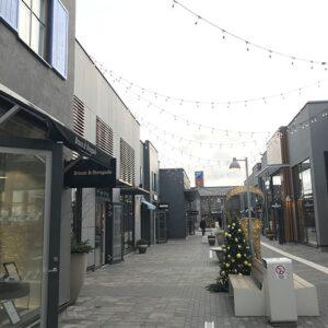 Hede Outlet - Fasadprojekt med Nordskiffer Svart
