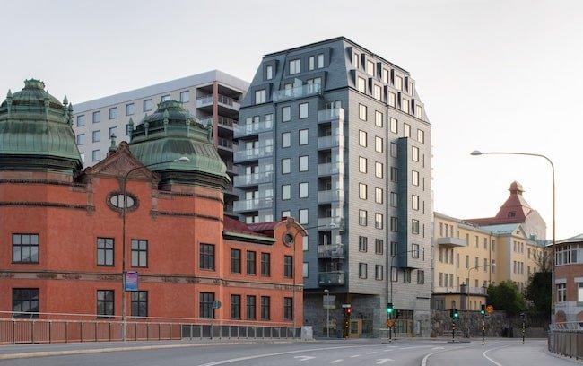 Tegners Torn Stockholm takskifferfasad Varg Arkitekter Foto M Olsson